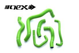 NEX Performance Z900RS 17年- NEX シリコンラジエターホースキット グリーン SH-KW531GR