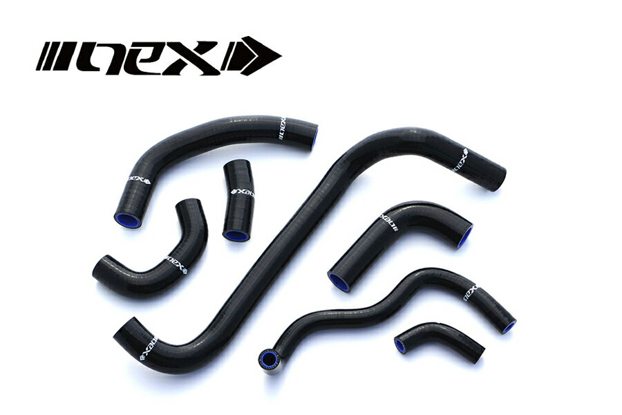 NEX Performance TRIUMPH DAYTONA675 09-12年 NEX シリコンラジエターホースキット ブラック SH-TB502BK