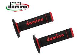 domino グリップ オフロード エクストリーム ブラック×レッド A19041C4240