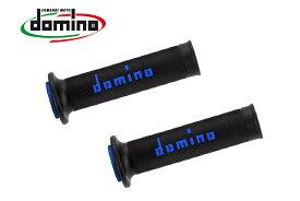 domino グリップ レースタイプ ブラック×ブルー A01041C4840