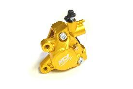 KN企画 NCY 対向2POTキャリパー 鋳造タイプ(ゴールド) DK02-NCY-GD