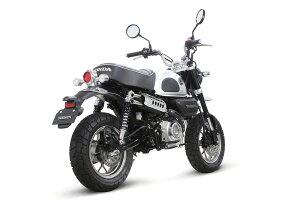 SP武川モンキー125[JB02]RSスポーツマフラー(メッキプロテクター)(政府認証)04-02-0315
