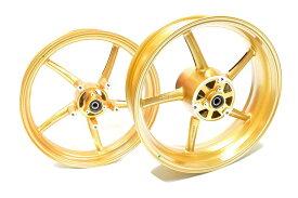 KN企画 YZF-R25・YZF-R3 RCB 鋳造ホイール前後セット SP522(ゴールド) 01S0394G