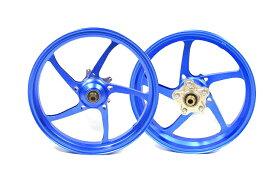 KN企画 YZF-R25・YZF-R3 RCB 鍛造ホイール前後セット FG525(ブルー) 01FG006A