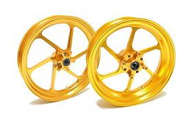KN企画 CBR250R/RA [MC41] RCB 鍛造ホイール前後セット FG506(ゴールド) 01FG005G