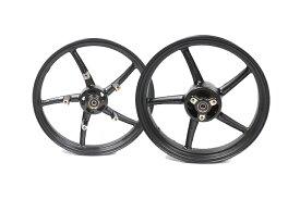 KN企画 GSX-R125/150・GSX-S125/150 RCB 鋳造ホイール前後セット SP522(ブラック) 01S0389H