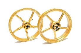 KN企画 GSX-R125/150・GSX-S125/150 RCB 鋳造ホイール前後セット SP522(ゴールド) 01S0389G