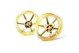 KN企画 NMAX125・NMAX150・NMAX155 RCB 鋳造ホイール前後セット SP811(ゴールド) 01S0429G