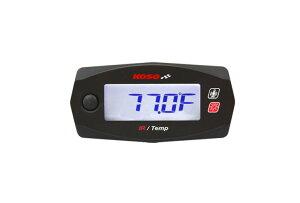 KN企画 KOSO Mini4 表面温度計&電圧計 非接触赤外線センサー式 KS-M4-TS01
