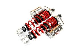 KN企画 AEROX155・NVX155 RCB 305mm 減衰調整リアショック SB-2(シルバー/レッド) 01A0126R