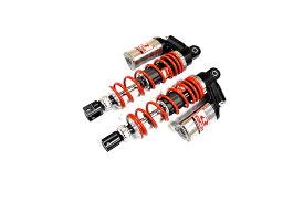 KN企画 AEROX155・NVX155 RCB 305mm リアショック減衰調整 DB-5(シルバー/レッド) 01A0135R