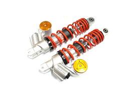 KN企画 AEROX155・NVX155 RCB 305mm 減衰調整リアショック SB-3(オレンジ/レッド) 01A0127R