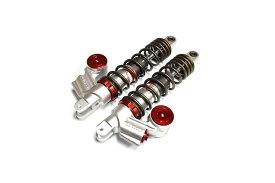 KN企画 NMAX125・NMAX150・NMAX155 RCB 330mm 減衰調整リアショック(SB-3)レッド/ブロンズ 01A0111T-KN