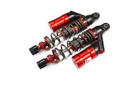 KN企画 NMAX125・NMAX150・NMAX155 RCB 330mm リアショック減衰調整付(DB-2)レッド/ブロンズ 01A0107T-KN