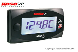 KN企画 KOSO Mini3デジタル(ヘッド温度計)/シグナスX[SE44J] KS-M3-HTY
