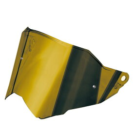 AGV(エージーブイ) ヘルメットパーツ シールド AX9用 AX9 / VISOR DUAL1 - IRIDIUM GOLD (イリジウムゴールド) KV30L1N1-003-N