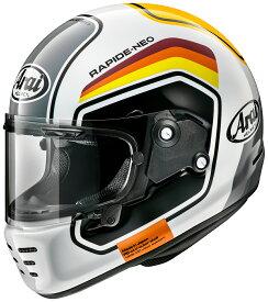 ARAI アライ フルフェイスヘルメット RAPIDE NEO (ラパイド ネオ) NUMBER (ナンバー) ホワイト Sサイズ 55-56cm