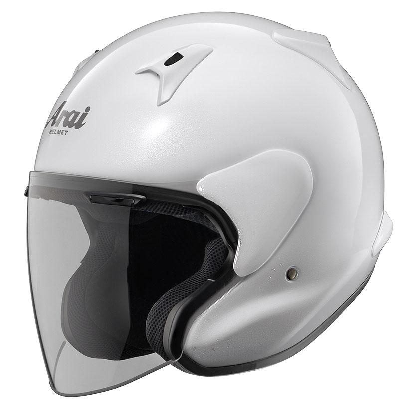 ARAI ジェットヘルメット MZ-F グラスホワイト XLサイズ 61-62cm
