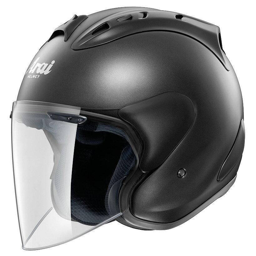 ARAI ジェットヘルメット SZ-RAM4 フラットブラック Mサイズ 57-58cm