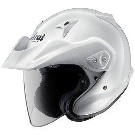 ARAI アライ ジェットヘルメット CT-Z (シーティーゼット) グラスホワイト XLサイズ 61-62cm