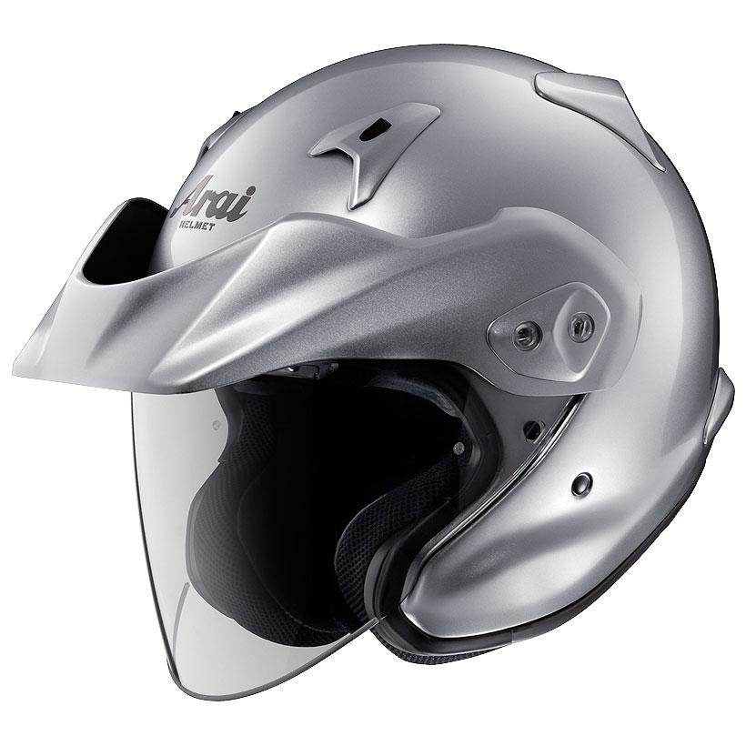 ARAI ジェットヘルメット CT-Z アルミナシルバー Lサイズ 59-60cm