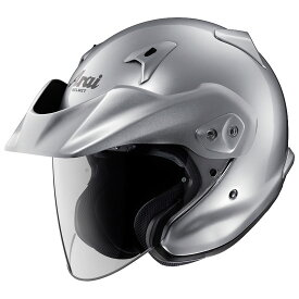 ARAI アライ ジェットヘルメット CT-Z (シーティーゼット) アルミナシルバー XLサイズ 61-62cm