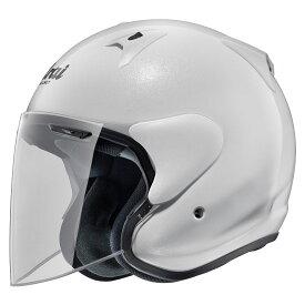 ARAI アライ ジェットヘルメット SZ-G (エスゼット ジー) グラスホワイト Lサイズ 59-60cm