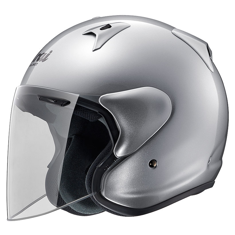 ARAI ジェットヘルメット SZ-G アルミナシルバー Sサイズ 55-56cm