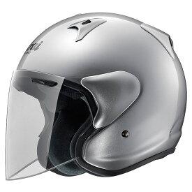 ARAI アライ ジェットヘルメット SZ-G (エスゼット ジー) アルミナシルバー Mサイズ 57-58cm