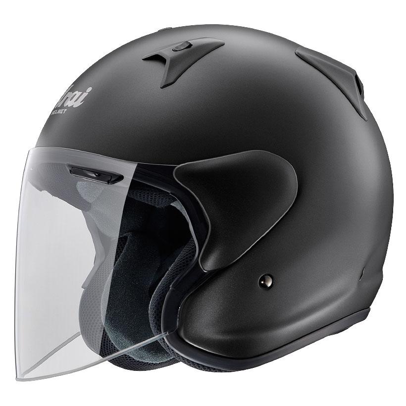 ARAI ジェットヘルメット SZ-G フラットブラック XLサイズ 61-62cm
