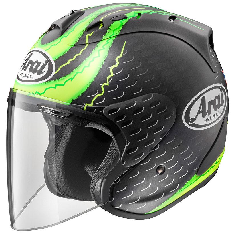 ARAI ジェットヘルメット SZ-RAM4 CRUTCHLOW GP (クラッチロウ GP) Lサイズ 59-60cm