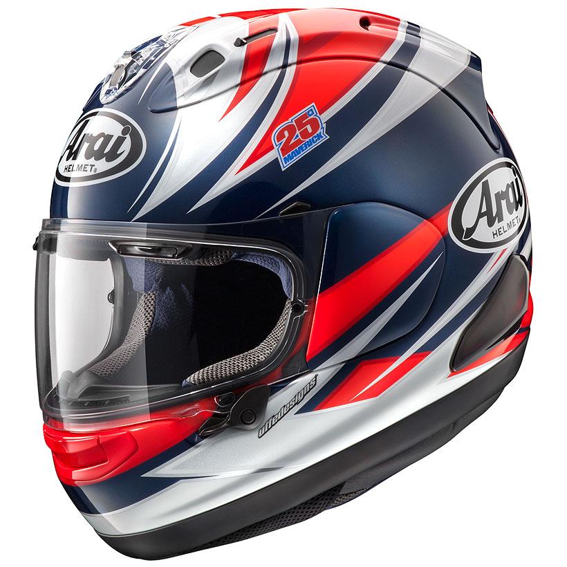 【動画あり】 ARAI フルフェイスヘルメット RX-7X VINALES (ビニャーレス) XLサイズ 61-62cm