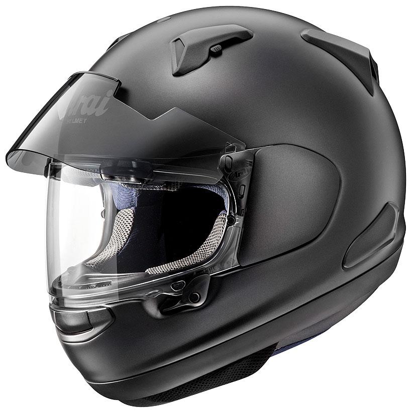 【動画あり】 ARAI フルフェイスヘルメット ASTRAL-X フラットブラック Lサイズ 59-60cm