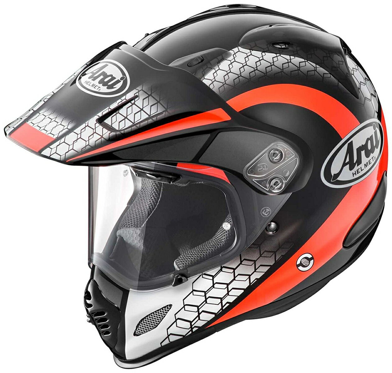 ARAI オフロードヘルメット TOUR-CROSS 3 MESH (メッシュ) レッド Mサイズ 57-58cm