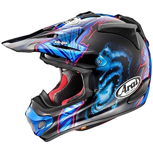 【動画あり】 ARAI オフロードヘルメット V-CROSS 4 BARCIA (バージア) Mサイズ 57-58cm