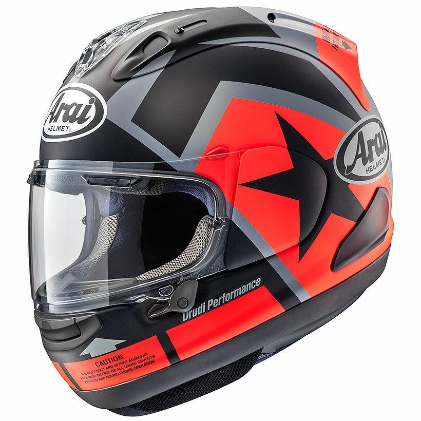 【動画あり】 ARAI フルフェイスヘルメット RX-7X MAVERICK (マーベリック) Lサイズ 59-60cm