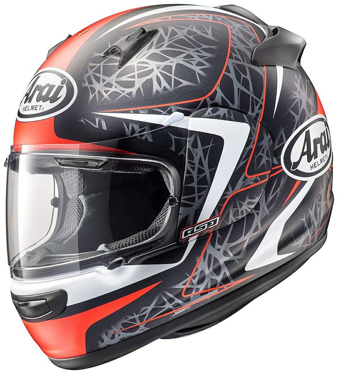 ARAI フルフェイスヘルメット QUANTUM-J STING (スティング) レッド XLサイズ 61-62cm