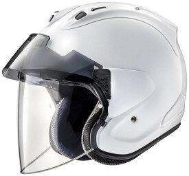 ARAI アライ ジェットヘルメット VZ-RAM PLUS (ブイゼット ラム プラス) グラスホワイト Mサイズ 57-58cm