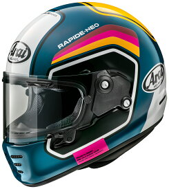 ARAI アライ フルフェイスヘルメット RAPIDE NEO (ラパイド ネオ) NUMBER (ナンバー) ブルー Sサイズ 55-56cm
