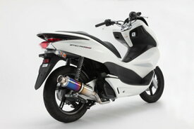 BEAMS (ビームス) バイク用 マフラー PCX150 / JBK - KF12 フルエキ フルエキゾースト SS 300 チタン B145-09-000