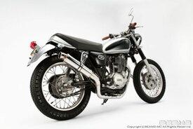 BEAMS (ビームス) バイク用 マフラー SR400 / 500 BC - RH01J / 1JR フルエキ フルエキゾースト R-EVO チタンソリッドサイレンサー B203-53-009