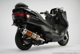 BEAMS (ビームス) バイク用 マフラー マジェスティー250 BA - SG03J フルエキ フルエキゾースト SS 400 チタン B205-18-000