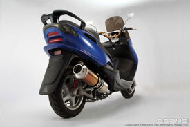 BEAMS (ビームス) バイク用 マフラー マジェスティ125 5CA / LPRSE271 フルエキ フルエキゾースト SS 400 チタン B207-18-000