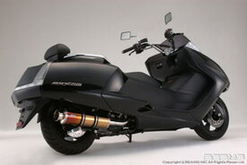BEAMS (ビームス) バイク用 マフラー マグザム BA - SG17J フルエキ フルエキゾースト SS 400 チタン B213-18-000