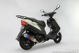BEAMS (ビームス) バイク用 マフラー ADDRESS V125 2009~ EBJ - CF4EA フルエキ フルエキゾースト SS 300 チタン B316-09-000