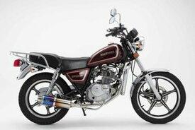 BEAMS (ビームス) バイク用 マフラー GN125H / 2F PCJG9 / PCJ2N フルエキ フルエキゾースト SS 300 チタン B330-09-000