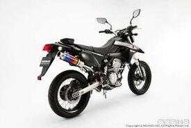 BEAMS (ビームス) バイク用 マフラー D - TRACKER JBK - LX250V フルエキ フルエキゾースト SS 300 チタン アップタイプ S/O B407-09-004