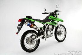 BEAMS (ビームス) バイク用 マフラー KLX250 JBK-LX250S SS 300 チタン アップタイプ フルエキ フルエキゾースト マフラー B408-09-003