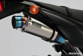 BEAMS (ビームス) バイク用 マフラー D - TRACKER125 EBJ - LX125D フルエキ フルエキゾースト R-EVO チタンサイレンサー B412-53-007