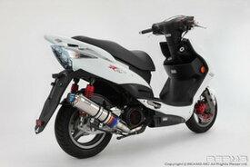 BEAMS (ビームス) バイク用 マフラー KYMCO RACING125Fi SR25BA フルエキ フルエキゾースト R-EVO チタン サイレンサーφ100 B506-53-007